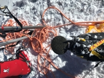 Forty Below overboots on Denali summit 2018