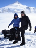 Roxanne and Robyn in Antarctica 2007