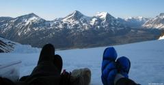40 Below Camp Booties in Wrangell-St.Elias 2013