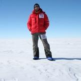 Olaf in Antarctica 2006 Camp Booties