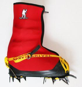 Image of forty below fresh tracks strap toe flip lever heel