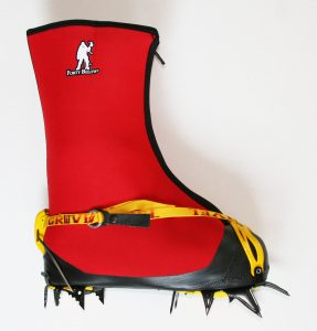 Image of fresh tracks strap toe flip lever heel double boot