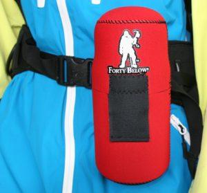 Image of forty below bottle boot on hip belt