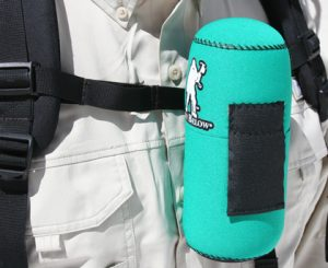 insulated bottle cover 16 ounce size made by Forty Below